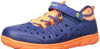 Stride Rite Made 2 Play Phibian Sneaker Sandal Water Shoe (Toddler/Little Kid/Big Kid), Navy, 7 M US Toddler