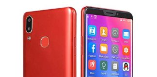 Choosebuy Unlocked Cell Phones, 6.1 inch Dual SIM HD Camera Smartphone Android 7.0 Bluetooth WiFi Quad Core 3G GPS Call Mobile Phone 16GB (Red)