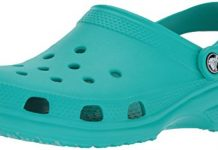Crocs Classic Clog Adults, Tropical Teal, 14 M US Women / 12 M US Men