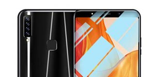 Android16GB Dual SIM Mobile Phone,Eight Cores 6.1 inch Dual HD Camera Smartphone,1G+16G+64G (Black)