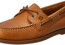 Sperry Men's A/O 2 Eye Boat Shoe,Sahara,10.5 M US
