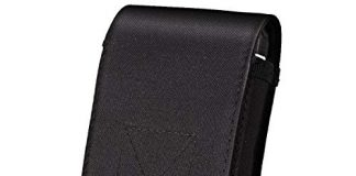IronSeals Tactical MOLLE Pouch, Universal Mobile Phone Belt Pouch EDC Pouch Belt Loops Waist Bag for iPhone X/8P/8/7P/7/6, Samsung Note8/5, Galaxy S9+/S9/S8+/S8/S7/S6, Huawei LG and Other - Size L