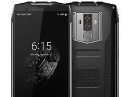"""Rugged Cell Phones Unlocked,Blackview BV6800 Pro Unlocked Smartphones,IP68 Waterproof Android 8.0 4G LTE Dual SIM,5.7"""" FHD+,Octa Core 4GB+64GB,6580mAh Battery,8+16MP Camera,NFC,for AT&T T-Mobile,Black"""