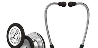 3M Littmann  Classic III Monitoring Stethoscope, Black Tube, 27 inch, 5620