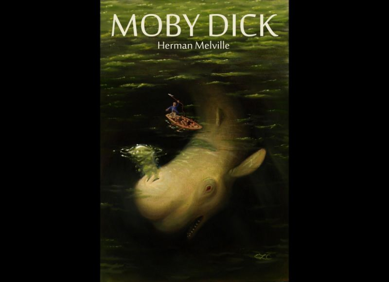 Although strictly just captain of a whaling ship, Herman Melville 's Captain Ahab shares many of the traits of the typical pirate. He is also one of the most terrifying, complex and studied characters in American literature. Obsessed with getting his revenge on the giant whale of the book's title, Ahab is a tyrant and monomaniac who dooms his crew in dogged pursuit of his own ends.