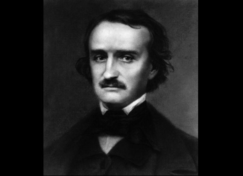 Edgar Allen Poe's (pictured) 1843 short story followed the adventures of Legrand, a man searching for long-lost treasure buried by the notorious pirate Captain Kidd - a reak-life Scottish sailor who was executed for piracy in 1701. The Gold-Bug was popular among the public but was savaged by critics - a typical experience for Poe, who wasn't truly appreciated as a writer until after his death. IMAGE: PA