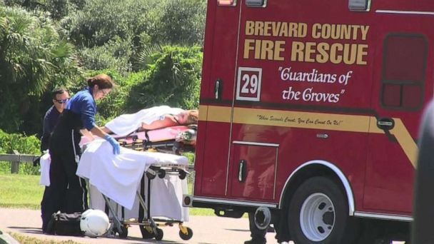 PHOTO: A woman was attacked by an alligator in Brevard County, Fla., on Saturday, May 25, 2019. She was seriously injured and flown to an area hospital. (ABC News)