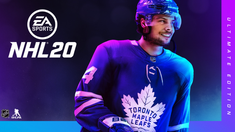 Auston Matthews is NHL 20's cover star