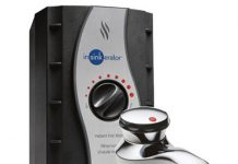 InSinkErator Contour Instant Hot Water Dispenser System - Faucet & Tank, Chrome, H-CONTOUR-SS