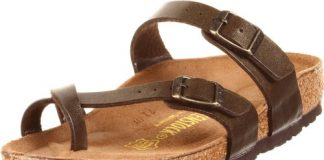 Birkenstock Women's Mayari Sandal,Golden Brown,41 EU/10-10.5 M US