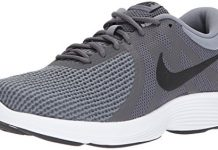Nike Men's Revolution 4 Running Shoe, Dark Black-Cool Grey/White, 11 Regular US