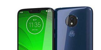 "Motorola Moto G7 Power (64GB, 4GB RAM) Dual SIM 6.2"" 4G LTE (GSM Only) Factory Unlocked Smartphone International Model XT1955-2 No Warranty (Marine Blue)"