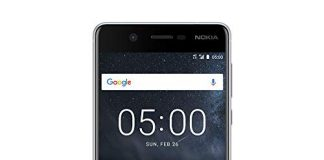 """Nokia 5 (16GB, 2GB RAM) 5.2"""" Polarized HD Display, Android 9.0 Pie, Dual SIM GSM (AT&T/T-Mobile/MetroPCS/Cricket/Mint) Unlocked Smartphone (Silver)"""