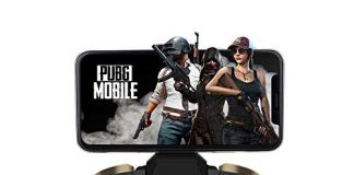 Mobile Game Controller, PowerLead PG-9118 Wireless Bluetooth Gamepad Joystick Game Controller for PUBG Compatible iOS Android Mobile Phone PC Android TV Box