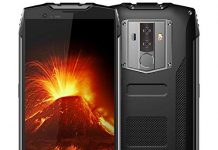 """Rugged Cell Phones Unlocked, Blackview BV6800 pro 4G LTE Unlocked Smartphone, IP68 Waterproof 4GB+64GB 6580mAh Android 8.0 Octa Core, 8MP+16MP Dual Rear Camera 5.7"""" FHD+IPS AT&T T-Mobile Black"""