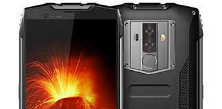 "Rugged Cell Phones Unlocked, Blackview BV6800 pro 4G LTE Unlocked Smartphone, IP68 Waterproof 4GB+64GB 6580mAh Android 8.0 Octa Core, 8MP+16MP Dual Rear Camera 5.7"" FHD+IPS AT&T T-Mobile Black"