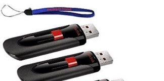 SanDisk Cruzer Glide 16GB (5 Pack) Cruzer USB 2.0 Flash Drive Jump Drive Pen Drive CZ60 - w/ (2) Everything But Stromboli (tm) Lanyard