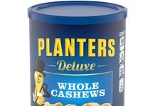 Planters Deluxe Whole Cashews ,1 Pound 2.25 Ounce