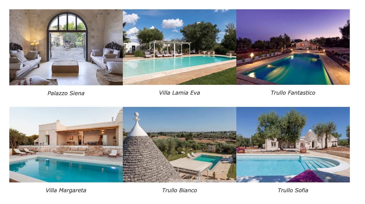 Puglia Paradise properties