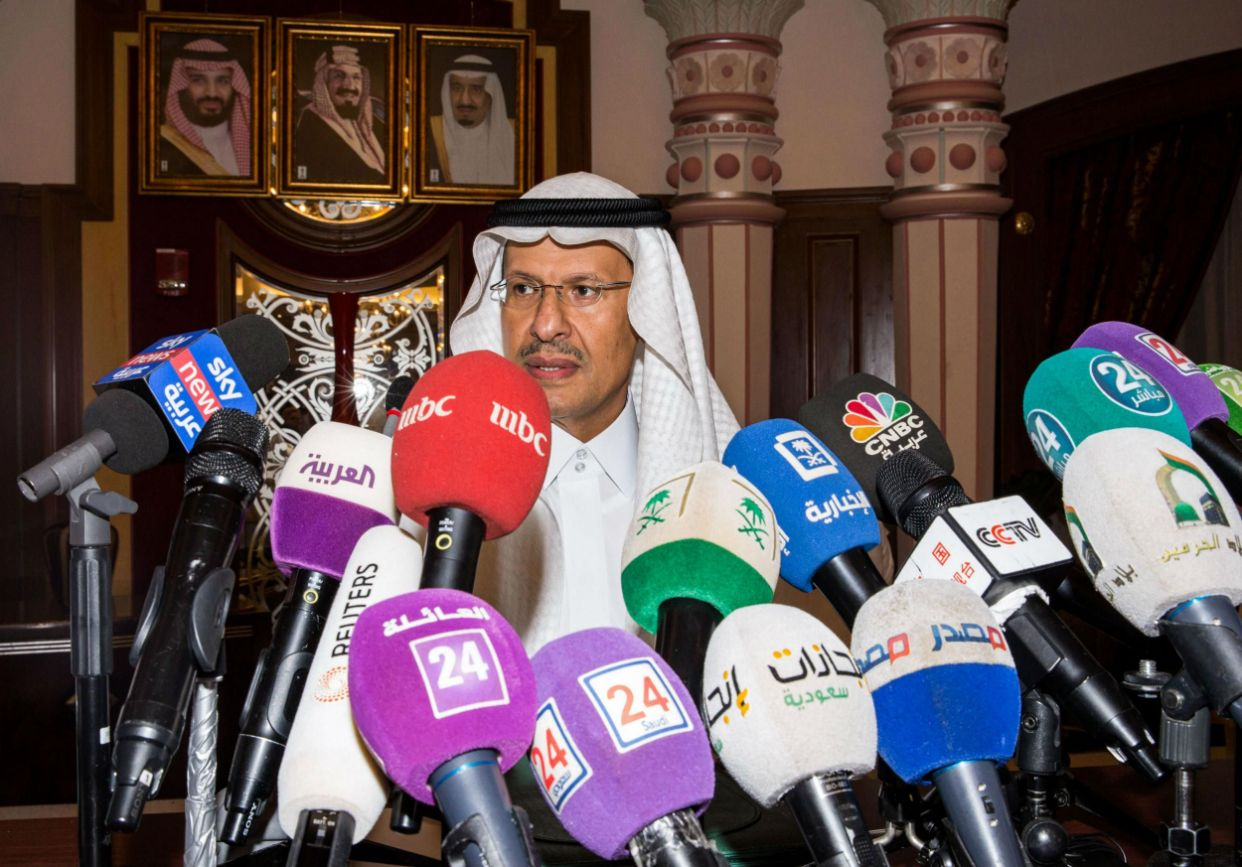 Saudi energy minister Prince Abdulaziz bin Salman said production would be back to normal by end of month: Getty