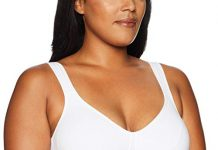 Playtex Women's 18 Hour Lift and Support Cool Comfort Cotton Stretch Bra, White Cotton, 38C