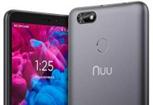 "NUU Mobile A5L Unlocked 4G LTE Cell Phone - 5.5"" Android 8.0 Oreo Go Edition Smartphone - Grey"
