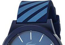 Lacoste Men's 2010934 Motion Analog Display Quartz Blue Watch