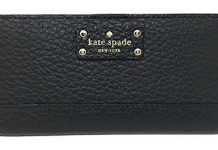 Kate Spade New York Bay Street Stacy Leather Wallet (Black), Medium