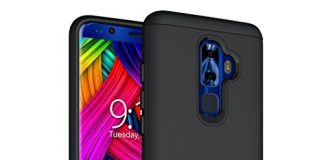 Nuu Mobile G3, G3+ Case, TUDIA Slim-Fit Heavy Duty [Merge] Extreme Protection/Rugged but Slim Dual Layer Case for Nuu Mobile G3, G3+ Android Smartphone (Matte Black)