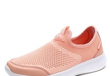 DREAM PAIRS Women's Shell Pink Athletic Walking Shoes Size 8.5 M US C0189_W