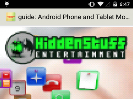 ANDROID PHONE AND TABLET MOBILE USERS GUIDE