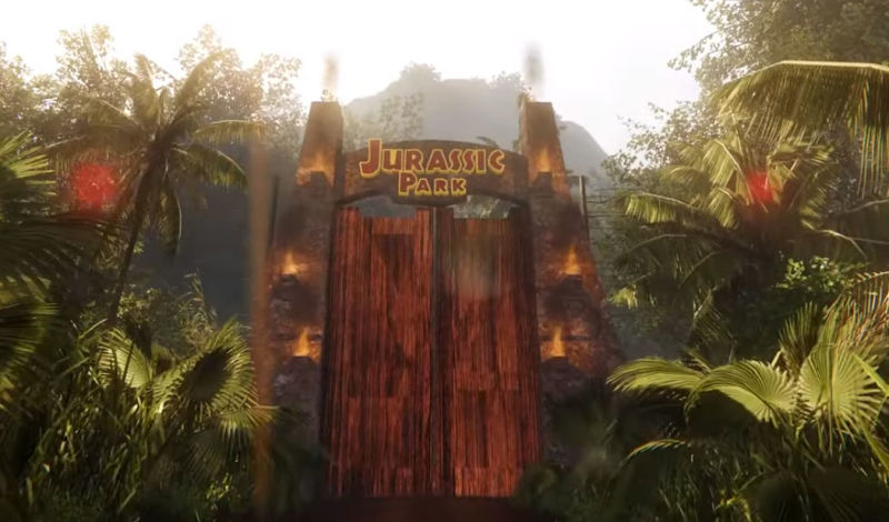Illustration for article titled Jurassic Dream Lets You Peacefully Explore A CryEngine Jurassic Park