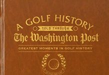 Greatest Moments in Golf History Personalized Washington Post Newspaper Book