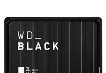 WD_Black 5TB P10 Game Drive, External Hard Drive Compatible with PS4, Xbox One, PC, Mac - WDBA3A0050BBK-WESN