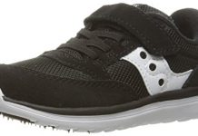 Saucony Baby Jazz Lite Sneaker (Toddler/Little Kid/Big Kid), Black, 10 M US Toddler