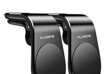 Magnetic Phone Car Mount (2 Pack) FLOVEME 5N52 Magnets Hands Free Universal Smart Phone GPS Holder for Car Air Vent Mount for iPhone 11 Pro Max XR XS Max X 8 7 Plus Samsung Galaxy S10 S9 S8 Note 10