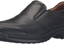 ECCO Men's Fusion II Slip On Casual Loafer Slip-On, Black, 43 EU/9-9.5 M US