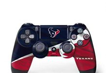 Skinit Decal Gaming Skin for PS4 Controller - Officially Licensed NFL Houston Texans Design