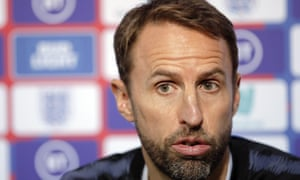 England's manager Gareth Southgate said: 'I've always said we have as many issues in our own country to resolve as anywhere else.'