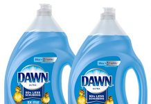 Dawn Ultra Dishwashing Liquid Dish Soap, Original Scent, 2Count, 56 Oz.(Packaging May Vary)