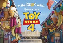 Disney Pixar Toy Story 4 Personalized In the Book with Child's Name