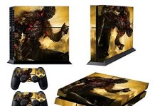 EBTY-Dreams Inc. - Sony Playstation 4 Original (PS4 Original) - Dark Souls 3 Video Game The Ashen One Vinyl Skin Sticker Decal Protector