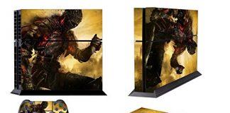 EBTY-Dreams Inc. - Sony Playstation 4 Original (PS4 Original) - Dark Souls 3 Video Game The Ashen One Vinyl Skin Sticker Decal Protector