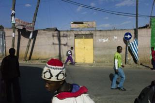 Streetscene, Addis Ababa, Ethiopia.