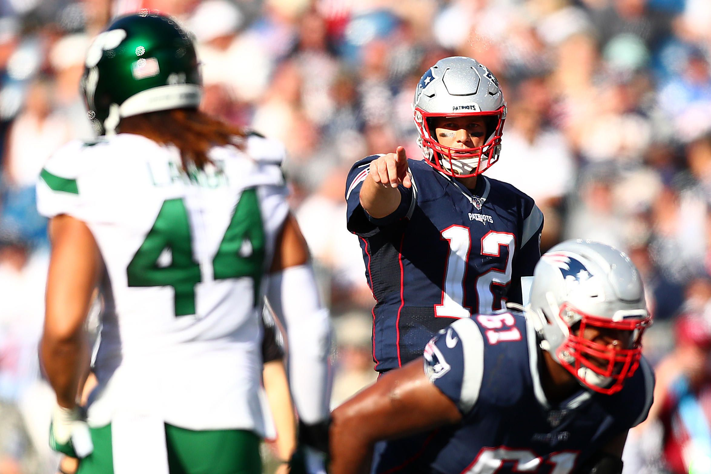 Patriots vs. Jets