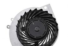 Serounder Cooling Fan for PS4-1100, Internal CPU Cooling Fan Cooler Replacement Part for PS4-1100 Game Console