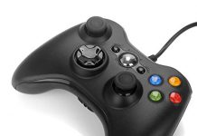Xbox 360 Controller Wired,WeiCheng Gamepads USB Game Joysticks Wired Gaming Controller for PC Laptop/Windows 7 8 10/Xbox 360/Xbox 360 Slim
