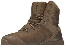 Under Armour Men's Valsetz RTS Military and Tactical Boot, Coyote Brown (220)/Coyote Brown, 10.5