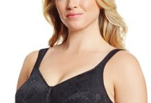 Playtex Women's 18 Hour Stylish Support;Full Coverage Bra, Black, 38B