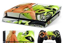 FriendlyTomato PS4 Console and DualShock 4 Controller Skin Set - Sexy Thong Girl - PlayStation 4 Vinyl
